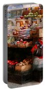 Store - Ny - Chelsea - Fresh Fruit Stand Portable Battery Charger by Mike Savad