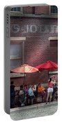 Storefront - Bastile Day In Frenchtown Portable Battery Charger