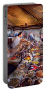 Storefront - The Open Air Tea And Spice Market  Portable Battery Charger
