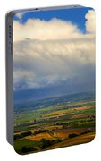 Storm Over The Kittitas Valley Portable Battery Charger