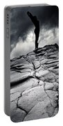 Stormy Silhouette Portable Battery Charger