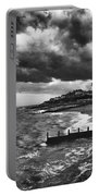 Stormy Southwold Portable Battery Charger