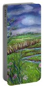 Stormy Wetlands Portable Battery Charger