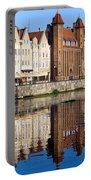 Straganiarska Gate In Gdansk Portable Battery Charger