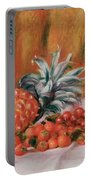 Strawberries And Pineapple Portable Battery Charger