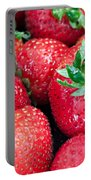 Strawberry Delight Portable Battery Charger