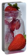 Strawberry Jam Portable Battery Charger