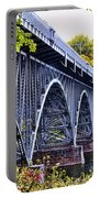 Strawberry Mansion Bridge Fall View Portable Battery Charger