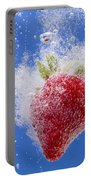 Strawberry Soda Dunk 1 Portable Battery Charger