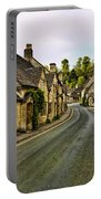 Street In Castle Combe Portable Battery Charger