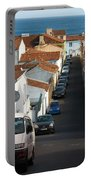 Street In Lagoa - Azores Portable Battery Charger
