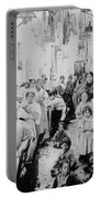 Street Scene In Athens Greece - C 1919 Portable Battery Charger
