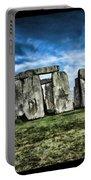 Striking Scene Of Stonehenge Portable Battery Charger