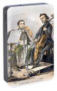 String Quartet, 1846 Portable Battery Charger