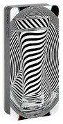 Striped Water 2 Portable Battery Charger