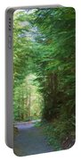 Stroll Through The Quinault Rain Forest Portable Battery Charger