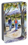 Strolling Virginia Lake Portable Battery Charger