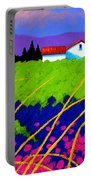 Study For Provence Painting Portable Battery Charger