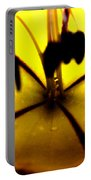 Study Of A Golden Cup Flower 5 Portable Battery Charger