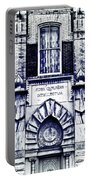 Study Of One Of The Oldest Catholic Churches In New Orleans Portable Battery Charger