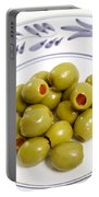 Stuffed Green Olives Portable Battery Charger