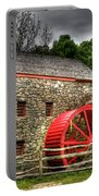 Sudbury - Storm Looms At The Grist Mill Portable Battery Charger