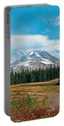 Summer At Mt. Hood In Oregon Portable Battery Charger