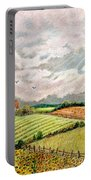 Summer Harvest Portable Battery Charger by Marilyn Smith