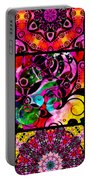 Summer Introspection Of An Extrovert Triptych Vertical Portable Battery Charger