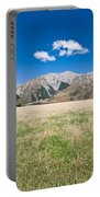 Summer Landscape Blue Sky Portable Battery Charger