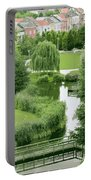 Summer Park In Belgium Portable Battery Charger