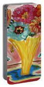 Summer Season 2012 Blooms Portable Battery Charger