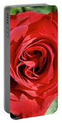 Summer's Red Rose  Portable Battery Charger