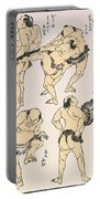 Sumo Wrestlers, 1817 Portable Battery Charger
