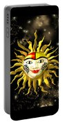 Sun Face  Portable Battery Charger