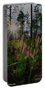 Sunburst On Elegant Liatris Portable Battery Charger