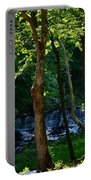 Sundown At The Falls Portable Battery Charger
