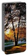 Sundown In Stanley Park Portable Battery Charger