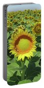 Sunflower And Honeybees July Two K O Nine  II Portable Battery Charger