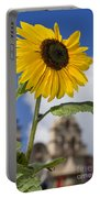 Sunflower In Balboa Park Portable Battery Charger