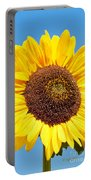 Sunflower Portrait II Portable Battery Charger