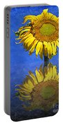 Sunflower Reflection Portable Battery Charger