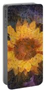 Sunflower Season Portable Battery Charger