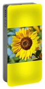 Sunflower Small File Portable Battery Charger