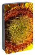 Sunflower Sunburst Portable Battery Charger