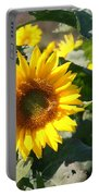 Sunflower Visitor Portable Battery Charger