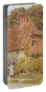 Sunflowers By Helen Allingham Portable Battery Charger