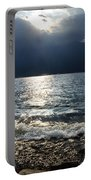 Sunlight And Waves Portable Battery Charger