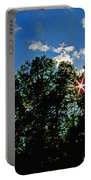 Sunlight Thrugh The Treetops Portable Battery Charger