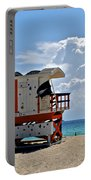 Sunny Day Miami Beach Portable Battery Charger